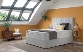 Relyon Aero Gel 2400 Pocket Mattress Divan Bed Room