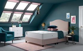 Relyon Aero Gel Fusion 1600 Mattress Bed Room