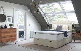 Relyon Aero Gel Fusion 2800 Mattress Bed Room
