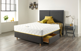 Relyon Bee Calm Mattress Room Bed Drawers