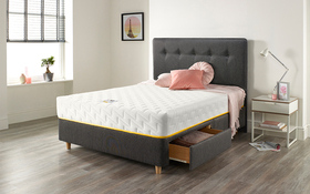 Relyon Bee Cosy 1450 Pocket Memory Mattress Bed Drawers