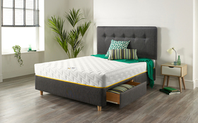 Relyon Bee Relaxed Mattress Bed Drawers Room