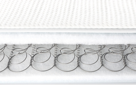 Relyon Classic Sprung Cot Bed Mattress Bisection