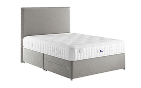 Relyon Hurley Memory Pocket 1500 Mattress On Bed Cut Out