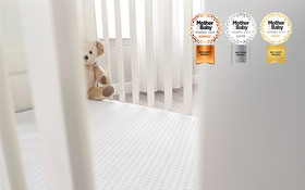 Relyon Luxury Pocket Sprung Cot Bed Mattress In Cot
