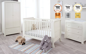 Relyon Luxury Pocket Sprung Cot Bed Mattress Room