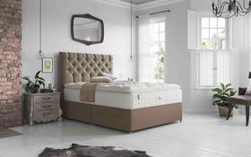 Relyon Luxury Silk 2850 Pocket Divan Bed Roomshot