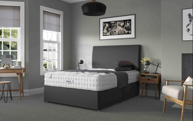 Relyon Luxury Wool 2150 Pocket Divan Bed Roomshot