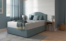 Relyon Natural Luxury 1000 Pocket Mattress Divan Bed Room
