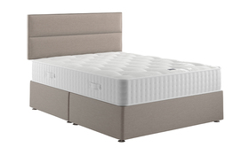 Relyon Natural Luxury 1400 Pocket Mattress Divan Bed