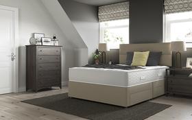 Relyon Orthofirm 800 Pocket Mattress Divan Bed Room