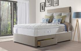 Sealy Activsleep Geltex 2800 Pocket Euro Top Divan Roomshot