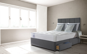Sealy Activsleep Ortho Extra Firm Divan Roomshot