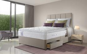 Sealy Activsleep Pocket 2200 Geltex Pillowtop Divan Roomshot