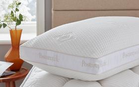 Sealy Pocket Springback Pillow On Mattress