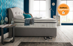 silentnight geltex ultra 3000 mirapocket divan