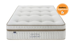 silentnight geltex ultra 3000 mirapocket mattress front