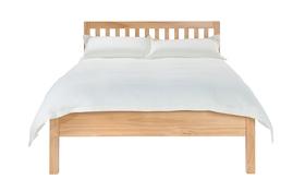 Silentnight Hayes Wooden Bed Frame Front Dressed