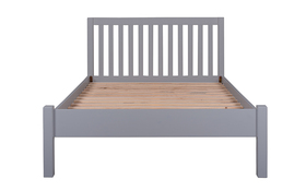 Silentnight Hayes Wooden Bed Frame Grey Front