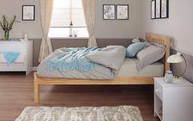 Silentnight Hayes Wooden Bed Frame Side Bedroom