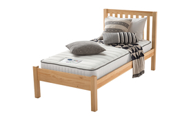 Silentnight Healthy Growth Traditional Sprung Bed Angle