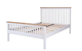 Silentnight Minerve Wooden Bed Plain
