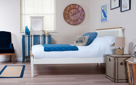 Silentnight Montreal Wooden Bed Sideview