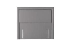 Silentnight Palermo Headboard Slate Grey Front