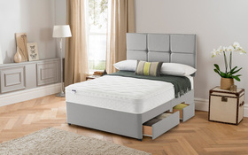 Silentnight Rio Divan And Mattress Roomshot 2018