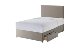 Silentnight Sandstone Divan Two Drawers