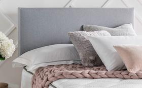 Silentnight Slate Grey Divan Base Roomset With Paris Headboard