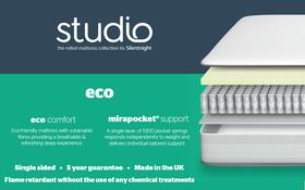 Silentnight Studio Eco Mattress Bisection