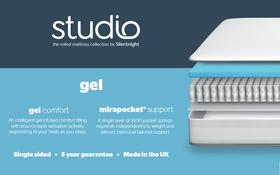 Silentnight Studio Gel Mattress Bisection