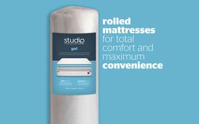 Silentnight Studio Gel Mattress Rolled