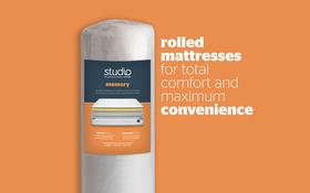 Silentnight Studio Memory Mattress Rolled