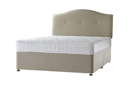 simply sealy 1000 pocket ortho divan undressed