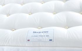 Sleepeezee Classic 800 Pocket Mattress Label