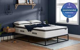Sleepsoul Bliss 800 Pocket Mattress Roomset Angle Top10