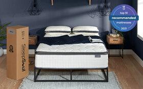 Sleepsoul Bliss 800 Pocket Mattress Roomset Front Top10