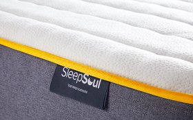 Sleepsoul Comfort 800 Pocket Mattress Label