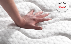 Sleepsoul Space 2000 Pocket Mattress Hand Press