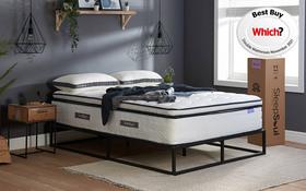Sleepsoul Space 2000 Pocket Mattress Roomset Angle