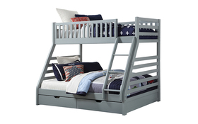 Sweet Dreams States Wooden Bunk Bed Grey