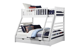 Sweet Dreams States Wooden Bunk Bed White