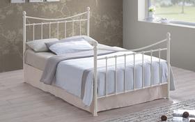 Time Living Alderley Ivory Metal Bed Frame Updated