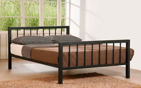 Time Living Metro Metal Bed Double