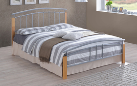 Time Living Tetras Silver Metal Bed Frame Updated