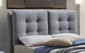 Time Living Tuscany Light Grey Headboard