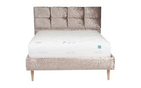 Vogue Jessica Crushed Velvet Bed Front Mattress