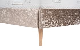 Vogue Jessica Crushed Velvet Bed Leg
